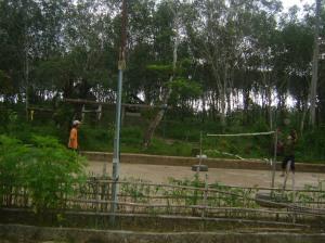 day 23, badminton 2 cardio
